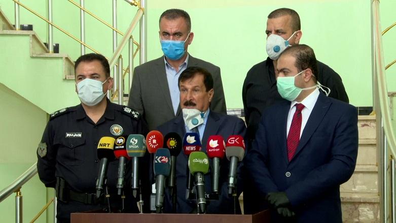 تسجيل اصابتين مؤكدتين بفيروس كورونا في قضاء خانقين