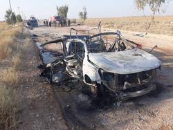 صور.. عمليات الانبار: قصف الحشد تم بطائرتين مسيرتين