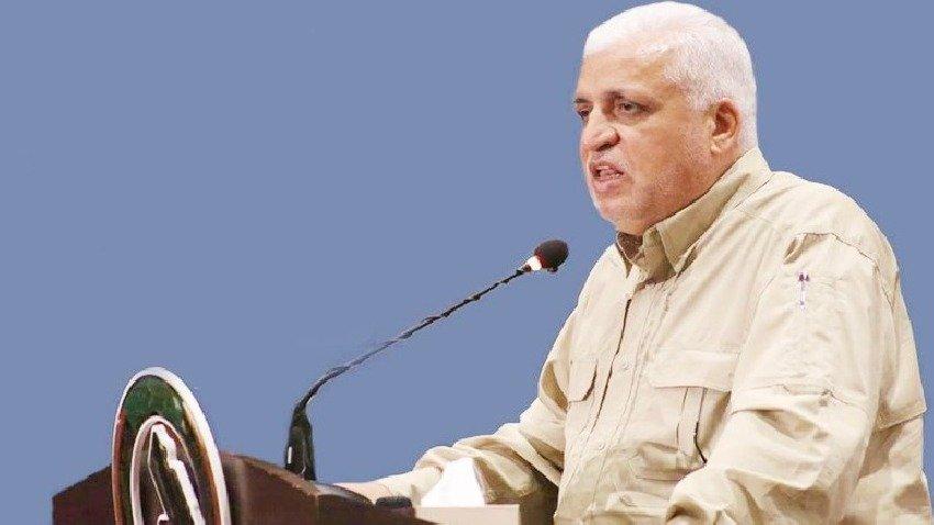 رئيس هيئة الحشد: حرق مقر الديمقراطي في بغداد عمل اجرامي