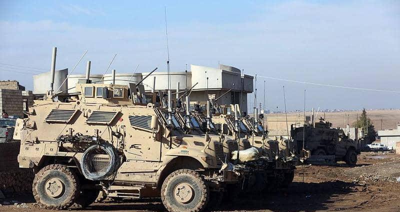دخول شاحنات عسكرية أمريكية من العراق إلى شمال سوريا