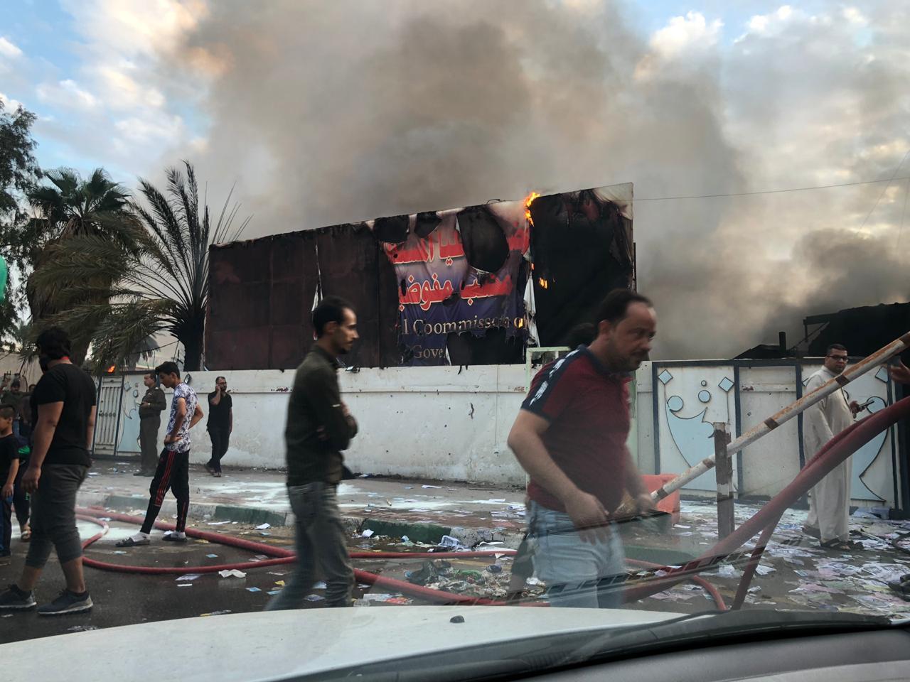 السلطات تفرج عن المتظاهرين المعتقلين في محافظة عراقية
