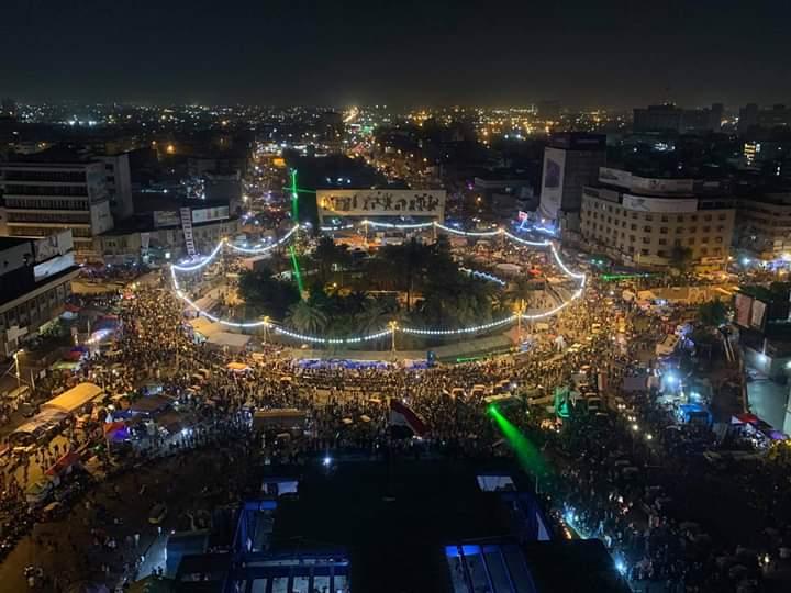 الداخلية تنشر تحركات التظاهرات في العراق وحجم الاصابات