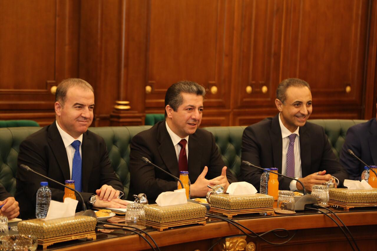Masror Barzani delivers today his cabinet formation to parliament