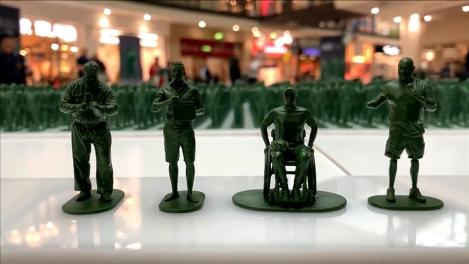 بعد حروبهم في العراق ودولة اخرى .. نصب 40 الف دمية لجنود بريطانيين