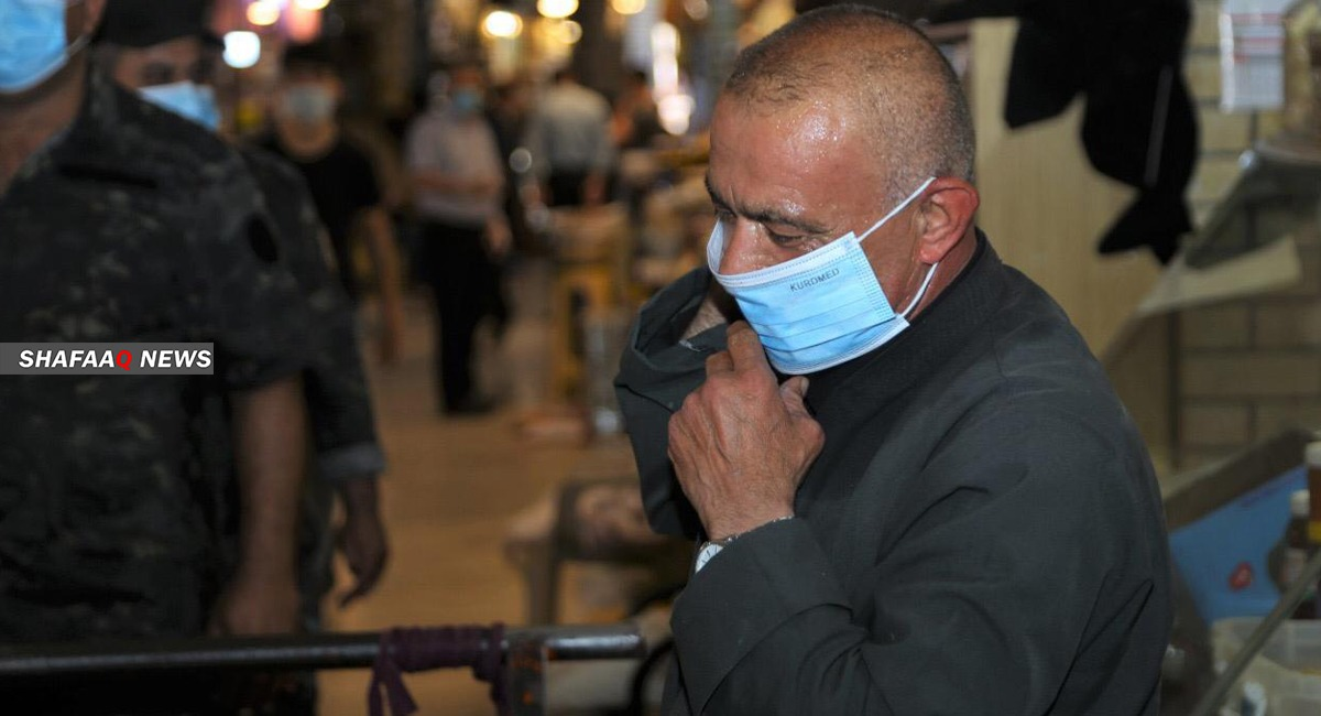 مجدداً.. أكثر من ألف إصابة بكورونا في كوردستان