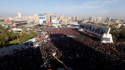 محتجون ينددون بتكليف علاوي: مخالف لنقاط ارسلناها سلفا لصالح