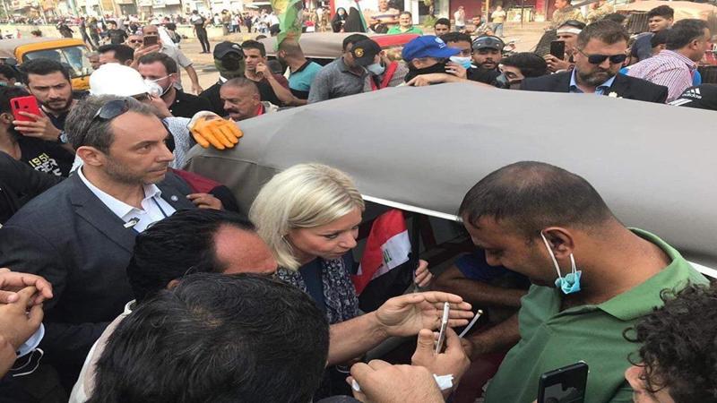 بلاسخارت تكشف امام مجلس الامن جملة حقائق عن التظاهرات في العراق