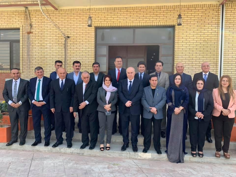 صور .. محافظ عاصمة اقليم كوردستان يغادر منصبه