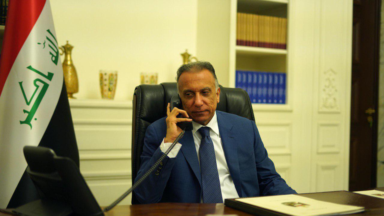 """فصيل """"يخترق"""" مكالمات مؤمنة بين الكاظمي وبن سلمان"""