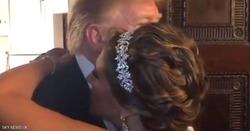 بالفيديو.. ترامب يفاجئ الجميع في حفل زفاف