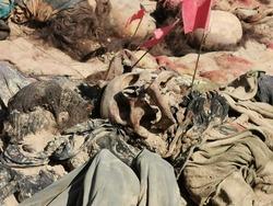 استخراج رفات 171 ضحية كوردية من مقبرة السماوة