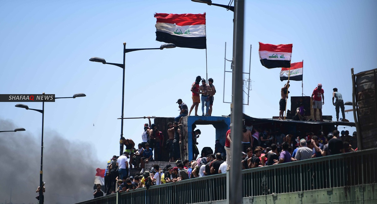 Basra: Demonstrations demanding the release of protestors arrested by the authorities