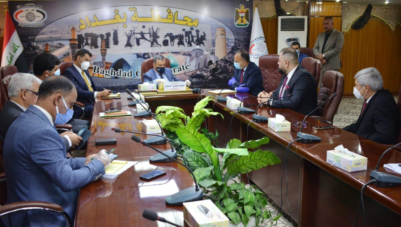 بغداد تدعو الحكومة الاتحادية لحظر تجوال شامل بالعاصمة بعد تزايد اصابات كورونا