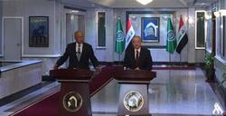 وزير خارجية العراق وأبو الغيط يبحثان الهجمات الاسرائيلية في المنطقة