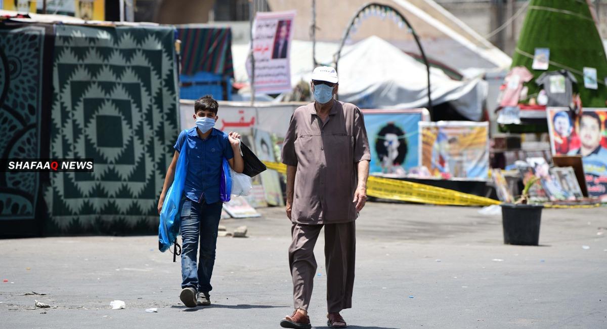 العراق يسجل حالات تعافٍ أعلى من الاصابات الجديدة بكورونا