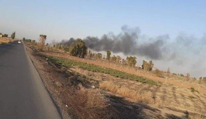 قصف يستهدف قاعدة بلد الجوية