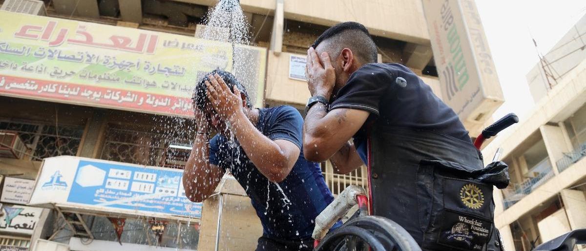 اربع محافظات عراقية تصل مرحلة الخطورة بتجاوز درجة الحرارة 50م