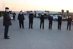صور .. السلطات في اربيل تستعين بالطائرات المروحية في فرض الحظر