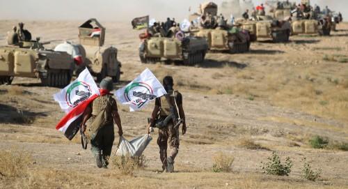 الحشد يعلن ضبط اسر عناصر بداعش دخلت نينوى عن طريق التهريب من سوريا