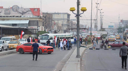 General strike begins and several major streets closed in Baghdad