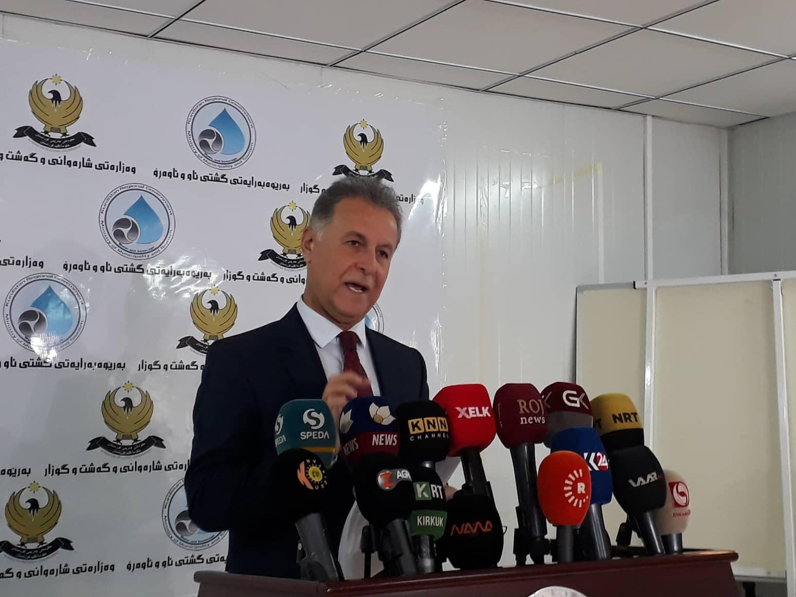 حكومة كوردستان تمنح مهلة لمتجاوزين وتحذّر من غرامة مالية قدرها 100 الف دينار