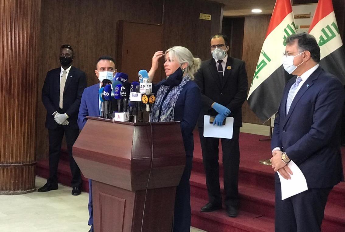 الامم المتحدة في العراق: التهاون مع فيروس كورونا سيكون باهظ الثمن