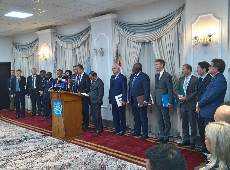 اعضاء مجلس الامن الدولي يحثون العراق على تطبيق المادة 140 من الدستور الدائم