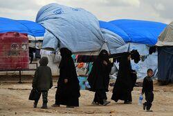 مقتل امرأة وإصابة أخريات من نساء داعش باعمال شغب على الحدود العراقية