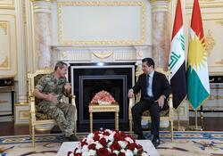 بارزاني لجنرال دولي: الأسباب التي أدت إلى ظهور داعش لا تزال قائمة