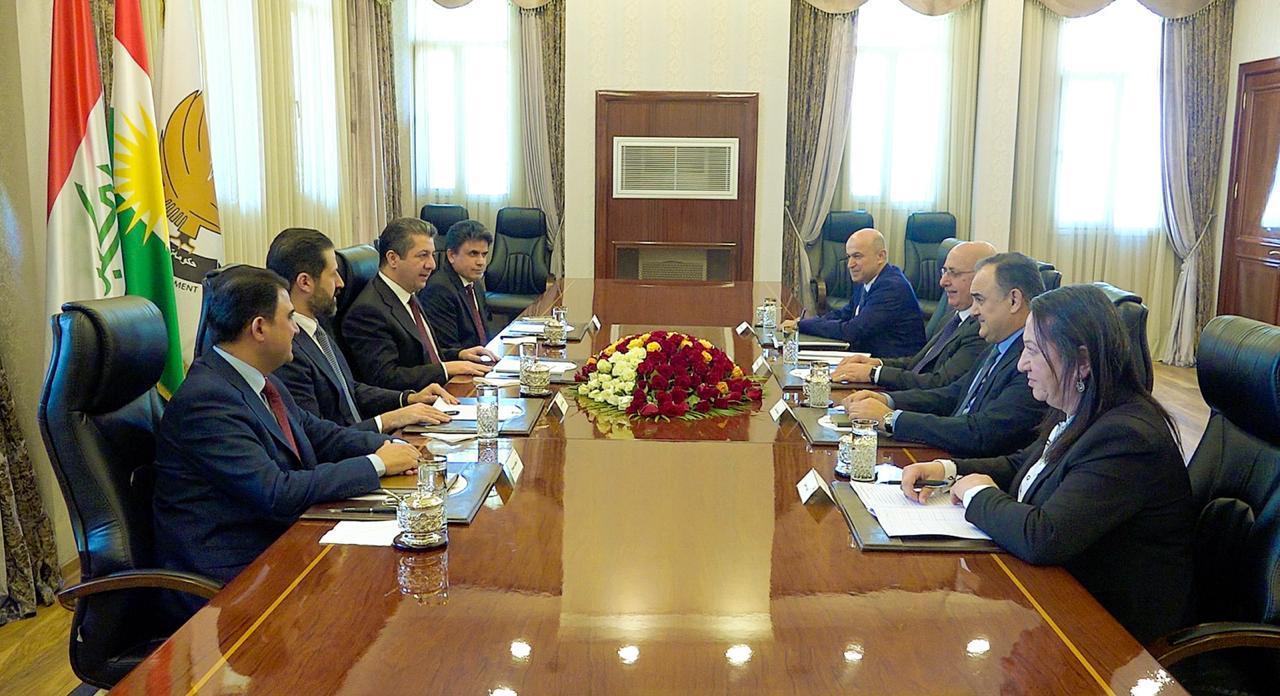 """مسرور بارزاني يؤكد على """"العدالة بصرف الإيرادات مناطق إقليم كوردستان"""""""