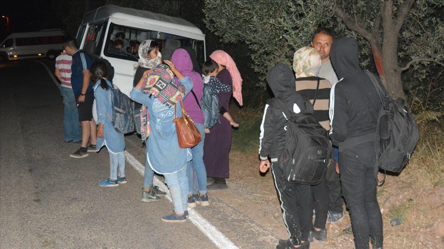 تركيا تضبط أكثر من مائة مهاجر غير شرعي غربي البلاد