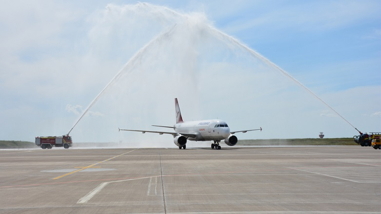 First of its kimd direct flight arrives from America to Kurdistan Region