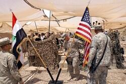 القوات الامريكية تقلص تواجدها في احدى القواعد العسكرية في العراق