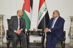 عبد المهدي ونظيره الأردني يبحثان عمل لجنة مشتركة وتنفيذ اتفاقات