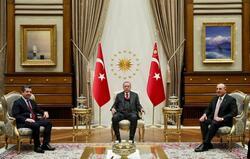 مسرور بارزاني يجتمع مع اردوغان في تركيا