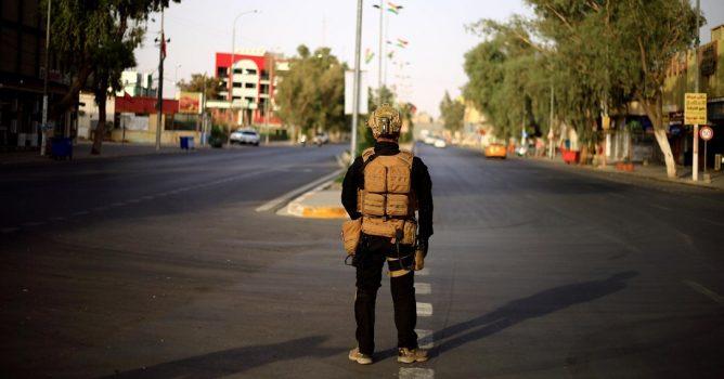 مرور بغداد تغرم وتحتجز مئات المركبات المخالفة لحظر التجوال