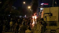 مجدداً.. محاصرة القنصلية الايرانية في كربلاء