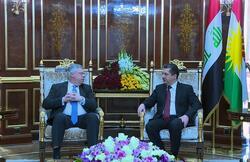 بارزاني يطلب من التحالف الدولي مواصلة دعم للبيشمركة والجيش العراقي