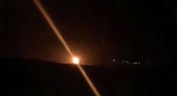 """حريق """"هائل"""" بانفجار محطة وقود شرق السليمانية"""