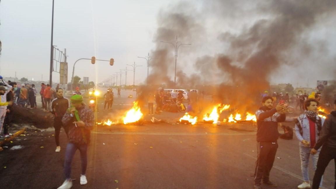 مصدر يكشف عن عشرات الضحايا بصفوف المتظاهرين في ذي قار