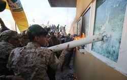 """كتائب حزب الله: """"اوامر الهية"""" لوقف استهداف الامريكان إن استمر انسحابها"""