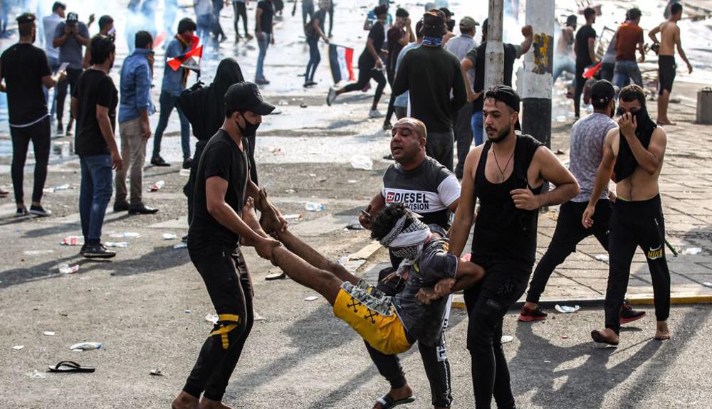الكشف عن احصاءات رسمية لضحايا التظاهرات في العراق