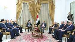 الرئيس العراقي: زيارة بارزاني لبغداد ستعزز تطوير المؤسسات التشريعية والقانونية