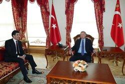 بيان من رئاسة اقليم كوردستان يعلن فحوى لقاء بارزاني مع اردوغان في اسطنبول
