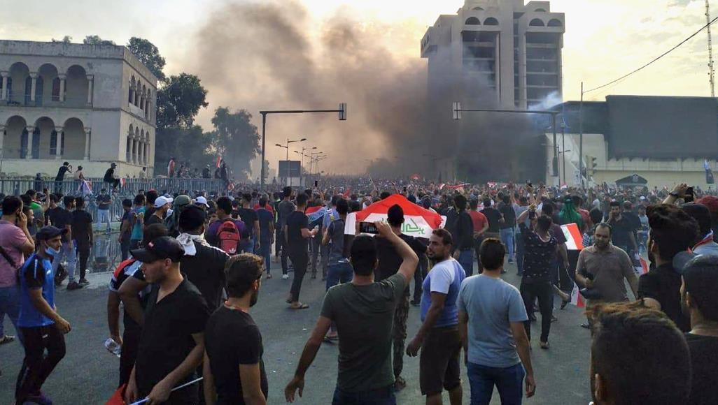 انباء عن مقتل واصابة موظفين بالبنك المركزي والرافدين بنيران عشوائية للقوات الامنية