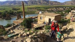 سد تركي يقضي على بلدة كوردية عمرها 12 ألف عام