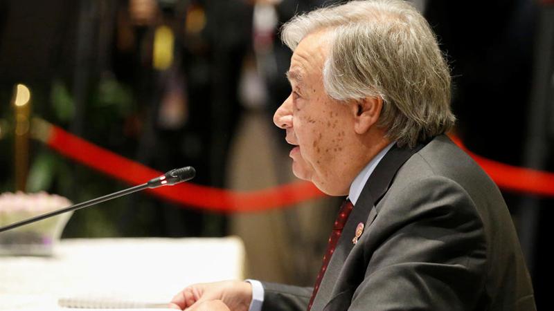 غوتيريش: لا يمكننا الطلب من العراق ايجاد حل للدواعش بدلاً عن العالم