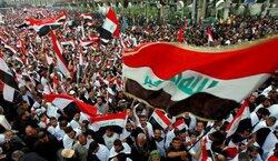بالصور.. مسيرات طلابية حاشدة تدخل ساحة التحرير ببغداد