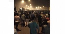 محتجون يتجهون صوب المنطقة الخضراء والقوات الأمنية تتصدى بالقوة