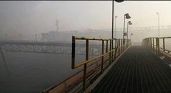 الدفاع المدني تخمد حريق الميناء في البصرة وتخلي اكثر من 100 موظف